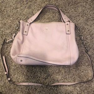 Kate Spade Baby Pink Slouchy Satchel & Crossbody